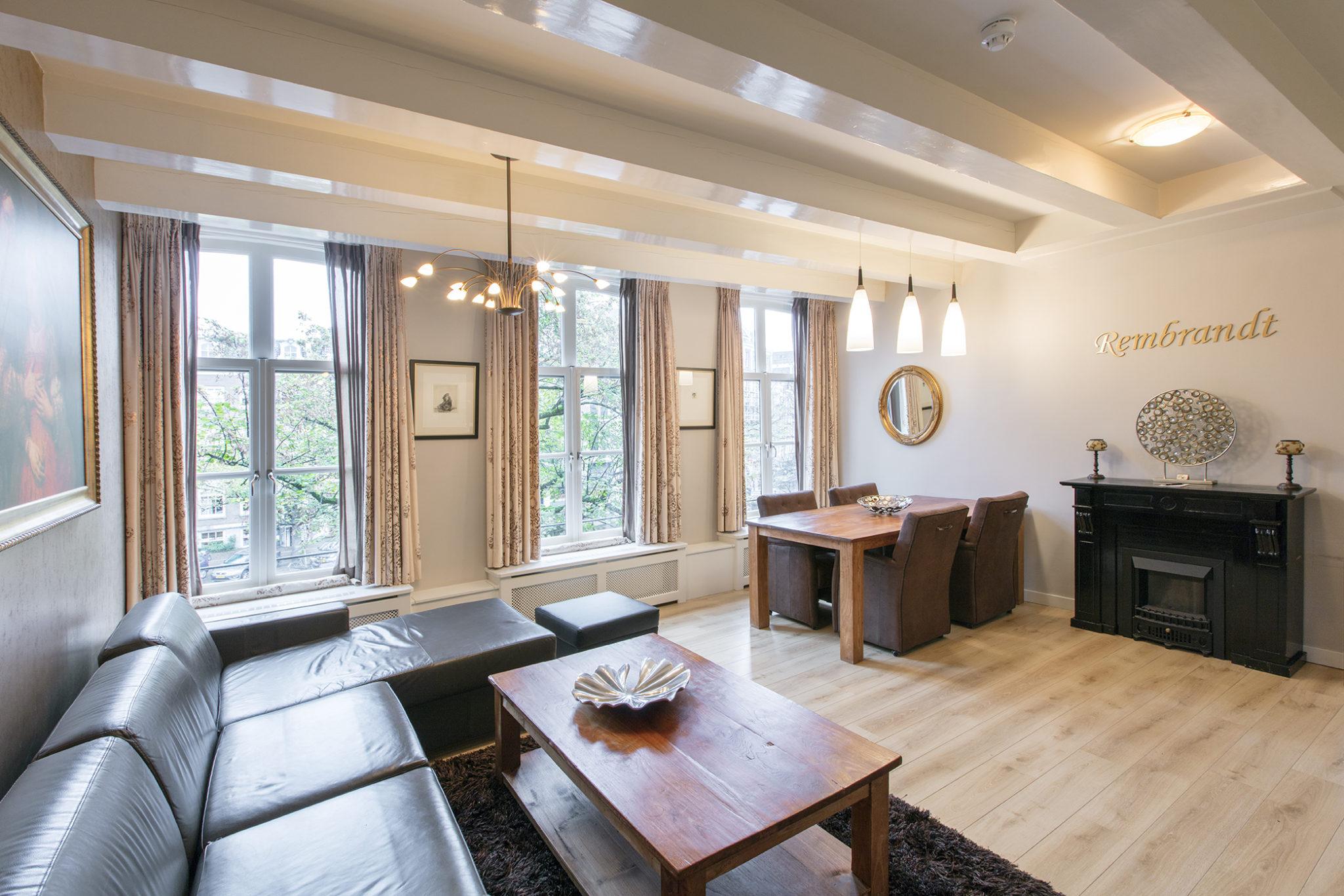 Dutch Masters Amsterdam Rembrandt van Rijn Apartment Livingroom © Michael van Oosten